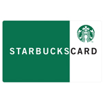 STARBUCKS<sup>&reg;</sup> $25 Gift Card